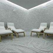 Ingresso al centro benessere e una seduta nella stanza del sale
